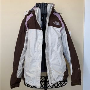 North Face shell HyVent jacket ⛰